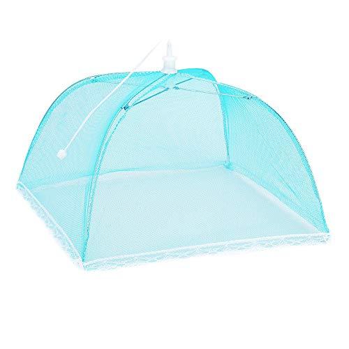 VICKY-HOHO 1 große Pop-up Mesh Bildschirm schützen Lebensmittel Abdeckung Zelt Dome Netz Regenschirm Picknick - Dome Led-licht Weg