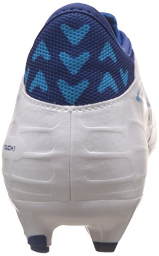 Puma Evotouch 3 Fg, Chaussures de Football Homme Blanc (Puma White-true Blue-blue Danube 03)