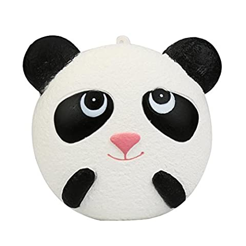 Jamicy Jumbo Colossal Panda Cartoon Squeeze Toy Scented Super Slow Rising Kids Baby Cute Toy 9.5CM Phone Charm Collects