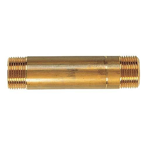 Tube d'attente laiton - MM 3/4 - 170 mm - Compteur d'eau - Watts industrie