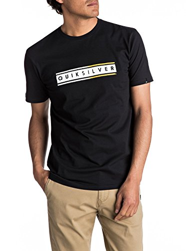 Quiksilver Herren Short Sleeve Classic Daily Surf T-Shirt Anthrazit