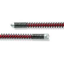 Rohrreinigungsspirale mit Stahlseele und Keulenkopf /Ø 10mm 3//8 f/ür ROSPI/® etc.