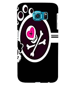 Samsung Galaxy S6 EDGE MULTICOLOR PRINTED BACK COVER FROM GADGET LOOKS