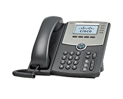 SPA514G 4-Line IP Phone With 2-Port Gigabit Ehternet Switch, PoE, and LCD