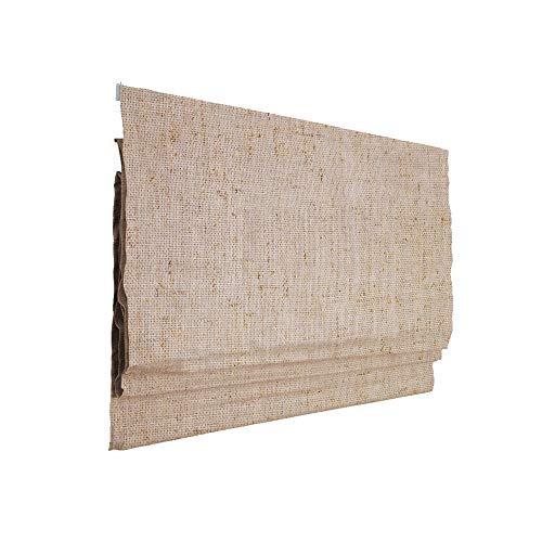 Victoria M. Ivora Estor Plegable, Cortina Plegable paqueto, 100 x 175 cm, Marfil Jaspeado