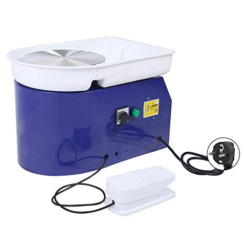 Töpferscheibe, 350W 24cm / 9.45zoll Töpferei Maschine, für Keramik Lehm Ton Keramikmaschine, geräuscharm, DIY Keramikwerkzeug