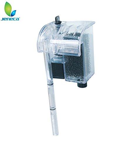 takestop® Filtro Esterno JENECA XP-06 Cascata Motore Alte Prestazioni Pompa Esterna Acquario Pesci Acqua Dolce SALATA Marino 3W 150Lh