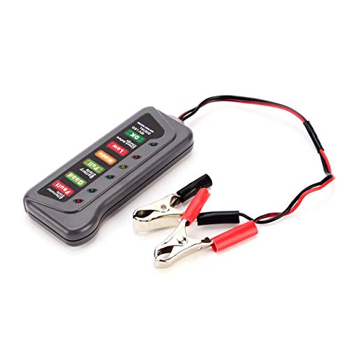 QX3012-Portable-12-LED-Volt-digitale-Batteriaalternatore-Tester-auto-del-tester-della-batteria-con-morsetti-e-leggeri-Indicatori