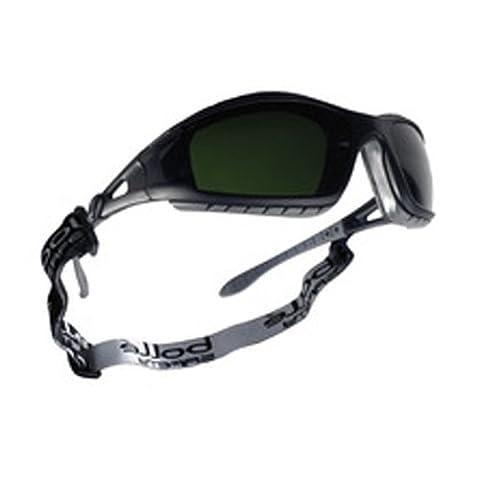 Bollé tracwpcc5Tracker Brille Gestell Nylon schwarz, Schweißen Schatten 5, kratzfest Objektiv