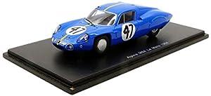 Spark-M64Le Mans 1964Alpine, s5681, Azul/Amarillo, en Miniatura (Escala 1/43