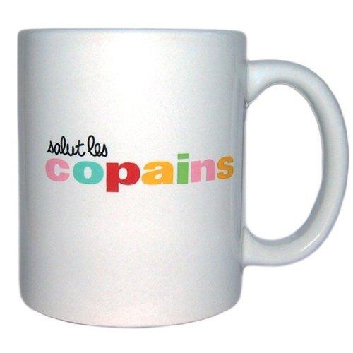 Mug Blanche Salut Les Copains