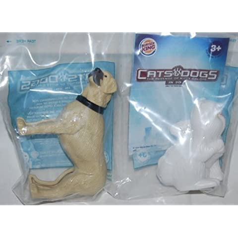 Burger King Kids Meal Cats & Dogs The Revenge of Kitty Galore Butch & Mr. Tinkles Toys 2010 by Bk