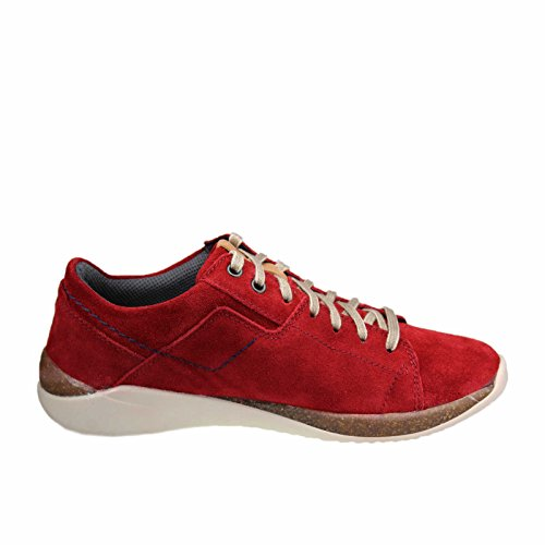 Josef Seibel Damen Ricky 01 Sneaker Rot (Rot-Kombi)