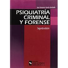 Psiquiatría Criminal y Forense (Manuales)