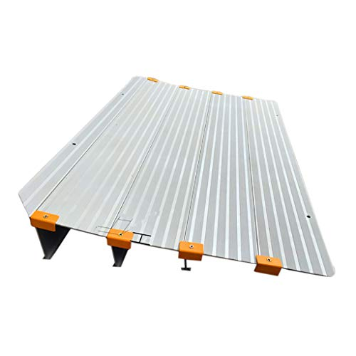 Aluminiumlegierung Entry Ramp Portable Barrierefreien Zugang Trittbrett Treppe TüR Abfallende Schwelle Rollstuhlrampe Pad - Lager Trittbrett