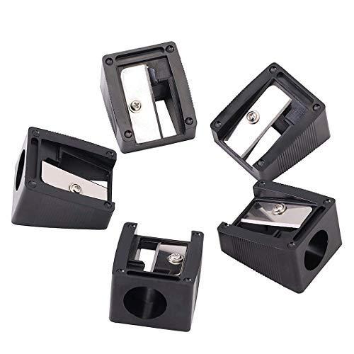 5 pcs Massen manuell Make-up Anspitzer, 16mm großes Loch für Jumbo-Lipliner Stick Augenbrauenstift