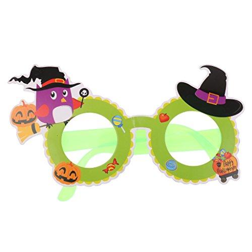 F Fityle Niedlich Kürbis Spaßbrille Kinder Erwachsene Halloween Kostüme Zubehör - Modell 1
