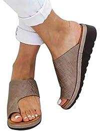 8dd4081c3e35 CoolTarget Women Comfy Platform Sandal Shoes Summer Beach Travel Shoes