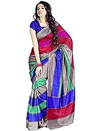 Samskruti Sarees Saree(SSSS-1_Multi-Coloured)