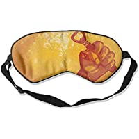 Eye Mask Eyeshade Beer Opener Sleeping Mask Blindfold Eyepatch Adjustable Head Strap preisvergleich bei billige-tabletten.eu