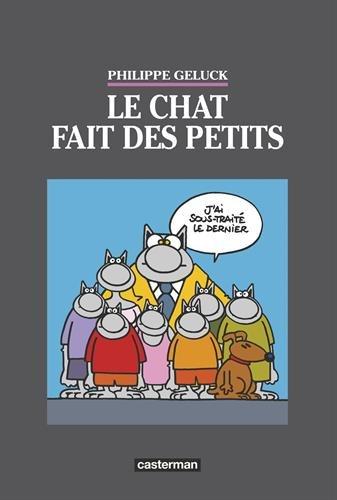 Le Chat T20 - Tirage de luxe - Le Chat Fait des Petits par Philippe Geluck
