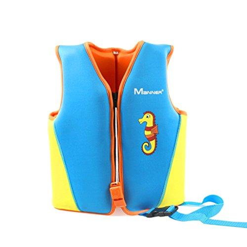 Giubbotto Nuoto per Bambina Bambini - Gilet Galleggiante per Ragazze Ragazzi Giacca da Nuoto Imparare a Nuotare