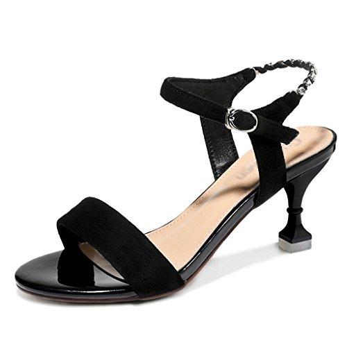 Chaussures femme HWF Sandales d'été Femme Talons Hauts