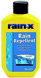 Rain-X anti-pluie est le numéro un au monde à action immédiate. Traitement hydrofuge spécial pour le pare-brise, les rétroviseurs et autres surfaces en verre. Son application permet le glissement de la pluie même à faible vitesse et améliore considér...