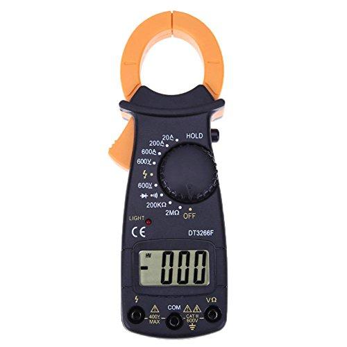 hillrong Digital Klemme Amperemeter DT3266F Spannung Strom Widerstand Mini Amperemeter
