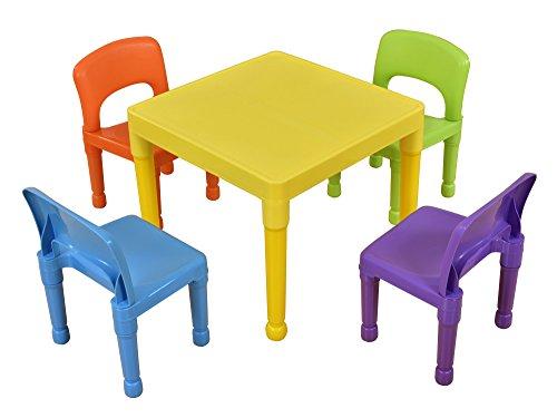 Tavoli E Sedie In Plastica Per Bambini.Liberty House Toys Tavolo Per Bambini Con 4 Sedie Plastica