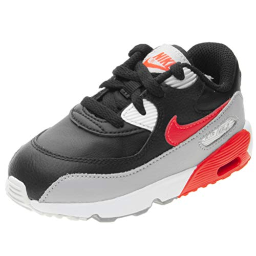 Details about Juniors NIKE AIR MAX 90 LTR GS Blue Trainers 833412 410