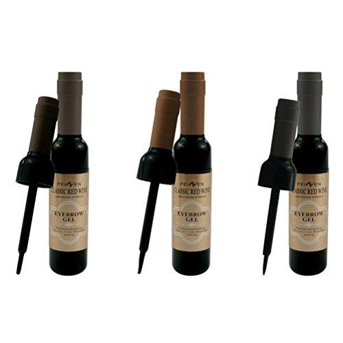 Frcolor Sourcils Tatouage Peel Long Lasting Étanche Sourcils Couleur Sourcils Maquillage Teint Gel (01 Brun Foncé)