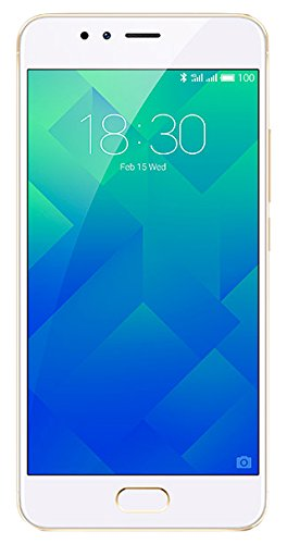Meizu M5s - Smartphone DE 5.2' (Octa-Core A53 1.3 GHz, Memoria Interna de 16 GB, 3 GB de RAM, HD (720p), Dorado/Blanco