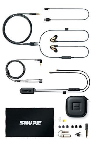 Shure SE846 Bluetooth 5.0 In Ear Kopfhörer mit Sound Isolating Technologie und Mikrofon für iPhone, iPad & Android - Premium Kabellos Ohrhörer mit warmem & detailreichem Klang - Bronze - 3