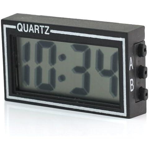Reloj Digital Electrónico para Coche Automóvil y Hogar Fecha Tiempo Calendario
