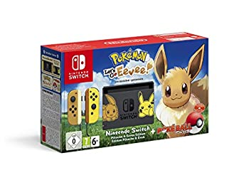 Nintendo Switch Let's Go Eevee Limited Edition: Let's Go Eevee + Pokeball Plus Controller