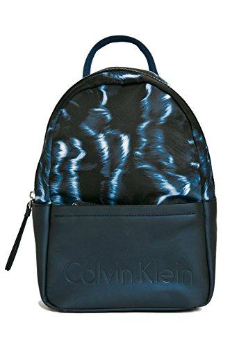 Sac à dos femme CALVIN KLEIN susi3 Backpack Print Bleu