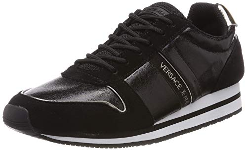 VERSACE JEANS COUTURE Damen Shoes Gymnastikschuhe, Schwarz (Nero 899), 40 EU