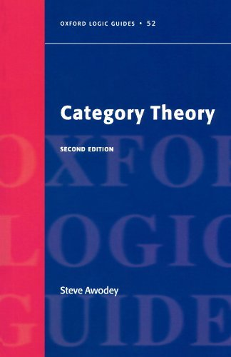 Category Theory (Oxford Logic Guides) by Awodey, Steve (June 17, 2010) Paperback