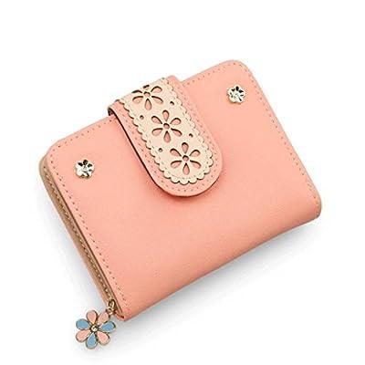 ZLR Mme portefeuille Ladies Little Wallet Lady New Lovely Ensemble de cartes multifonctions