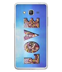 PrintVisa Tue Love High Gloss Designer Back Case Cover for Samsung Galaxy Grand 3 :: Samsung Galaxy Grand Max G720F