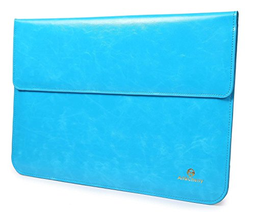 7 Zoll Schutzhülle / Tasche für Tablets aus feinstem Lederimitat mit Zusatzfächern und weichen Innenfutter für Samsung Galaxy Tab 2-4, Huawei MediaPad, Asus MemoPad7, Acer Iconia Tab7, Fire HD7, HP7 Plus, Toshiba Touch7, HTC Flyer, Onyx, Medion Lifetab, Lenovo Ideatab A3000, Archos, Pocketbook Surfpad 2, Nook, Odys, Kobo Vox, Farbe hellblau