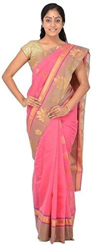 VINTAGE Girls cotton saree(VINTAGE O20_multi colour_Freesize)