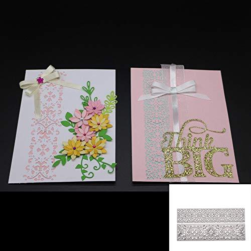 Berrose -DIYneue Blume Herz Metall stanzformen schablonen DIY Scrapbooking Album papierkarte prägestempel-Metall Stahl Schneiden prägestempel Kit für einladung Scrapbook Handwerk