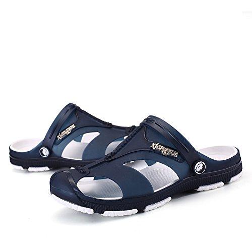 Infradito Da Uomo Traspirante Da Spiaggia Con Sandali Sportivi Infradito Blu Scuro