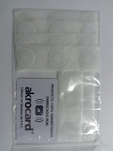 Tag NFC Sticker ntag216| 888Byte | 25mm | Bianco 20 Tags