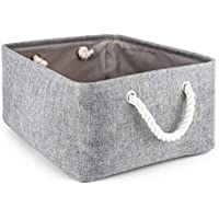 MMYOMI: Cesta de almacenamiento para la colada con asa, organizador de armario, caja
