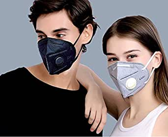 Xtore Protection Plus N95 / PM 2.5 Anti Pollution Mask | Military grade | Advanced inbuilt 5 layer filter | Premium Quality - (1 pc, Colors may vary)