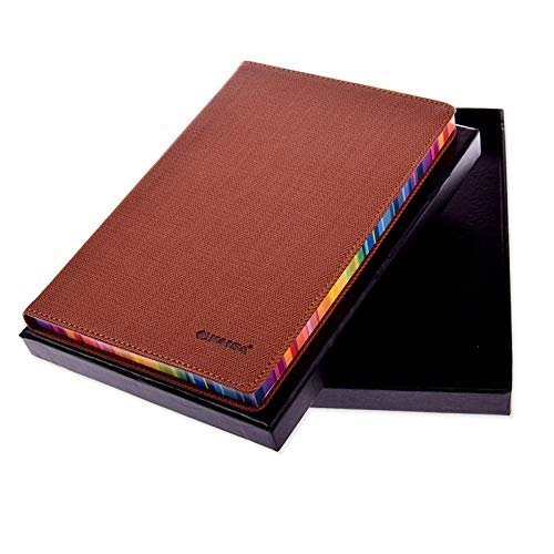 Systemplaner Leder Notizbuch Notizblock Student Tagebuch Braune Farbe A5 Organizer Terminplaner - Braune A5 Organizer