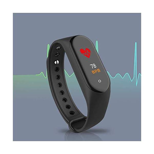 Reloj inteligente de Ango, pulsera de actividad deportiva, frecuencia cardíaca, tensiómetro de la tensión arterial… 6